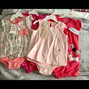 Infant girl 4 pc spring/summer lot